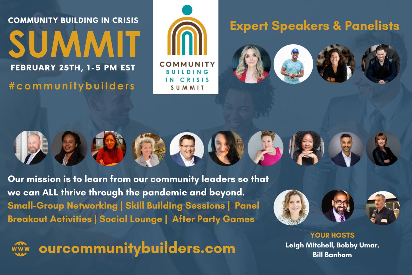 Community Building in Crisis Summit